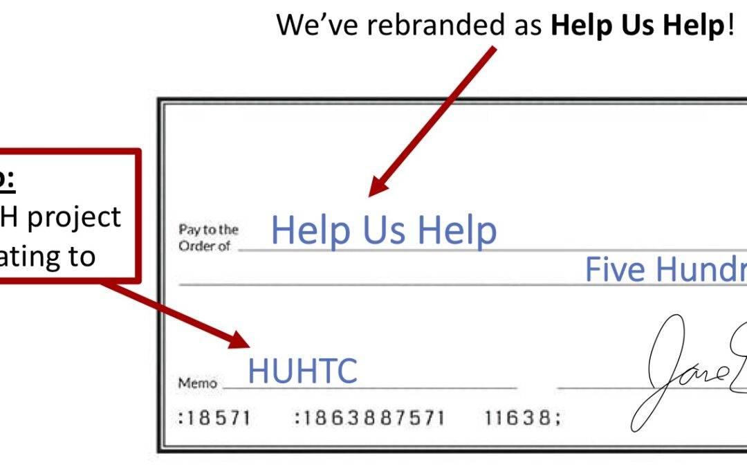 WONDERING HOW TO DONATE?